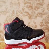 Sepatu anak Nike Jordan Black Red Kids Murah Grade Original