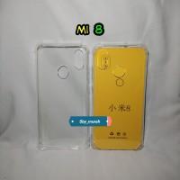 Case Mi 8 / Xiaomi 8 / Mi8 Softcase Silikon Bening Anti Crack