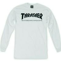Thraser T shirt Long Sleeve Skateboard Mag