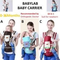 Gendongan|Hipseat|Bayi|Anak|Baby|Carrier|Hip Seat|Kado|Hadiah|Lahiran - 0-36 Bulan, Biru Muda