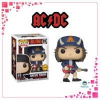 Funko POP Rocks AC DC - Angus Young with Devil Hat Limited CHASE Editi