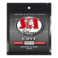 SIT String senar gitar CRT Coated electric Extra Light 9-42 CS942