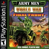 CD Game PS1 PSX Army Men World War Final Front