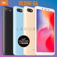 Xiaomi Redmi 6A 6 A Tam Resmi Original Xiomi Siomi - Hitam