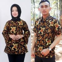 cauple remaja batik pasangan sarimbit baju pria wanita br 2