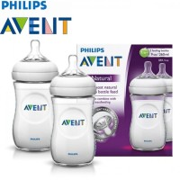Philips Avent SCF693/27 Bottle Natural 260 ml Twin Pack 2pcs