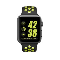 nike rubber tali strap apple watch series 1 2 3 4 38mm 40mm 42mm 44mm