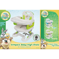 Baby Looney Tunes multi function deluxe foldable booster/kursi makan