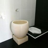 Bak mandi unik bakul modern minimalis