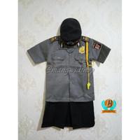 Baju / Stelan / Setelan / Kostum Profesi Polisi Wanita Polwan Anak