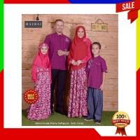 TERBARU Baju Kapel HaiHai Family 23 Magenta ORIGINAL Baju Muslim Coupl