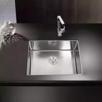kichen sink lesso undermout 1 lubang/bak cuci piring 1 lubang