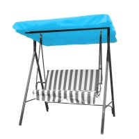 Active Outdoor 3 Seater Garden Swing Chair Replacement Canopy Spare