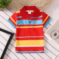 Pakaian Atasan Baju Kaos Kerah Anak Laki Import Quality