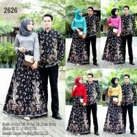 Couple Batik Bunga Keris Baju Kondangan