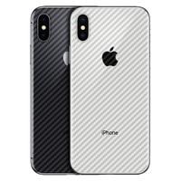 Antigores Belakang iPhone 6 7 8 X Xr Xs Max Carbon not Tempered Glass