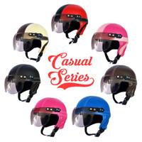 NEW Helm Anak Retro Polos