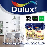 dulux catylac interior 1501 putih pail cat tembok 25 lt kg pail