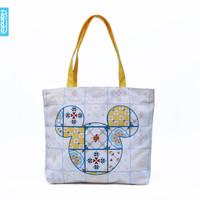 Mickey Ramadhan Tote Bag XL Mother Bag - Adinata / Tas kanvas