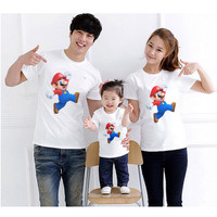 Kaos Couple Family Super Mario Bros