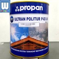 ULTRAN POLITUR P-03 UV WARNA 1LTR -CAT PELAPIS KAYU EXTERIOR/EKSTERIOR