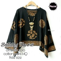 Batik Solo Batwing Top 41 Rayya Batiksoloamanah 145.000