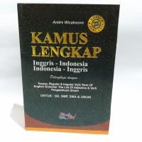 Kamus Lengkap Inggris-Indonesia Ukuran A5-Tenses/Reguler/Grammar