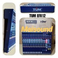 MIXER AUDIO TUM EFX12 EFX 12 CHANNEL