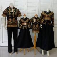 IZAMBATIK Baju Batik Couple Keluarga Muslim Princess Belvania Set Ay