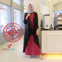 Gamis Syari Maxi Mizuki / Dress Muslim Arabian Crepe Premium