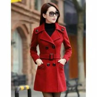 blazer wanita model korea baju tebal musim dingin
