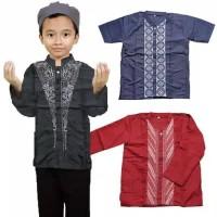 baju koko anak cowok trendy pakaian muslim terbaru