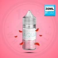 AQUA SOUR MELON SALTS - salt nic - cukai - Premium liquid US - MURAH