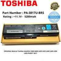 Baterai / Batery Laptop Toshiba L645 , L745 , C640 - PA-3817U-1BRS Ori