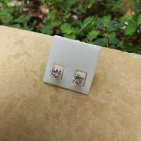Anting Tindik Monel Diamond Cubic Zirconia Bintang
