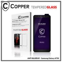 Samsung A7 2018 / A750 - COPPER Tempered Glass ANTI-BLUERAY(Full Glue)