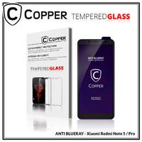 Xiaomi Redmi Note 5 -COPPER Tempered Glass ANTI-BLUERAY (Full Glue)