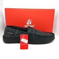 Super Sale Sepatu Pria Ardiles Waka,Hitam,Sepatu Casual,Original Slip