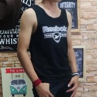 Murah Baju Kaos Singlet Pria Tshirt Distro Remaja Oblong Motif Fila -