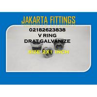 BUSHING / VLOK RING DRAT GALVANIZE 2 X 1 INCH