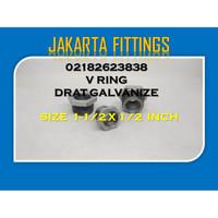 BUSHING / VLOK RING DRAT GALVANIZE 1-1/2 x 1/2 INCH