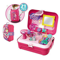 Dresser Backpack Mainan Anak Perempuan Pretend Play
