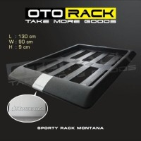 sporty roof rack premium montana series by otorack mobil voxy