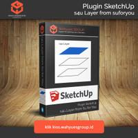 s4u Layer Extension SketchUp Original License dan Support