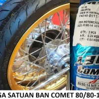 Comet 80/80-14 M1 Ban Tubeless Motor Matic Honda Matik Yamaha