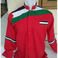 NEW Koko Palestina Merah, baju koko pria, pakaian shalat