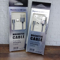 Kabel Data Magnetic Type C Clearcast - Kabel Casan / Charger 1.2 Meter