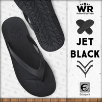 Limited Edition Sandal Jepit Pria Flip Flop CAMOU - WR Jet Black