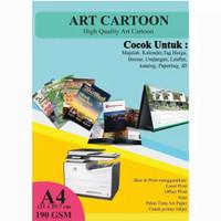 Kertas Art Carton 190 Gram A4