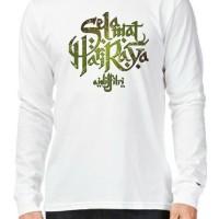 Kaos Baju Tshirt lebaran Selamat Hari raya idul fitri 2019